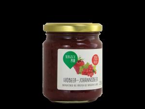 Erdbeer-Johannisbeer Brotaufstrich mit 70% Frucht