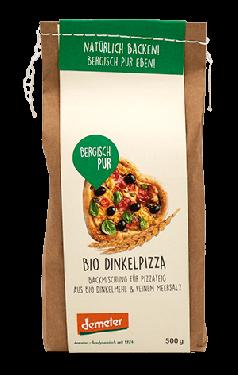 Bio Dinkel Pizza Backmischung