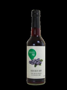 Heidelbeer-Sirup