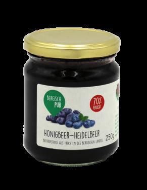 Honigbeer-Heidelbeere Aufstrich 70% Frucht