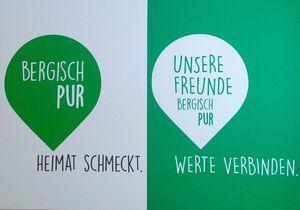 Bergisch Pur startet neue Produktinitiative Unserer Freunde – Werte verbinden